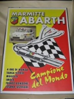 ABARTH EXHAUST POSTER