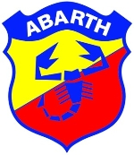 95 X 82 MM ABARTH STICKER
