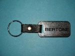 METAL FOB WITH BLACK LETTERS