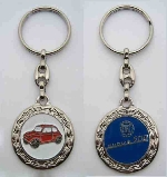 500 IN WREATH KEY FOB