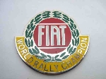 FIAT WORLD RALLY CHAMP EMBLEM