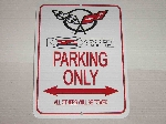 Z06 405 HP PARKING ONLY SIGN