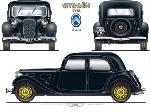 Citroën Traction Avant POSTER