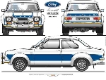 Ford Escort RS 2000 POSTER