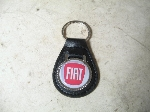 NEW FIAT LEATHER KEY FOB