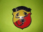 ABARTH RALLY SHIELD EMBLEM