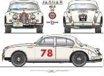MK2 3L8 Tour de France Jaguar