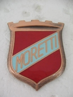 MORETTI SHIELD-MOUNTS ON SIDE