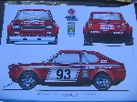 1972 FIAT 128 SL COUPE POSTER