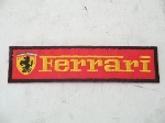 RED FERRARI PATCH