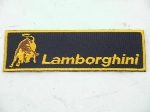 RECTANGULAR LAMBORGHINI PATCH
