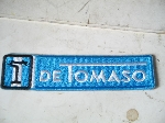 DE TOMASO PATCH