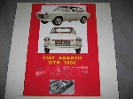 ABARTH OTR 1000 COUPE POSTER