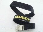 BLACK ABARTH BELT