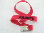 RED ABARTH BELT
