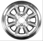 15X6 PANASPORT ALLOY WHEEL