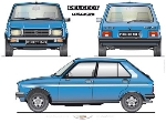 PEUGEOT 104 S POSTER