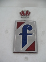 "DETACHED CROWN ""f"" EMBLEM"
