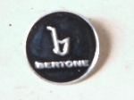 BLACK BERTONE PIN