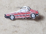 RED LANCIA SCORPION PIN
