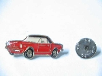 RED FIAT 124 SPIDER PIN