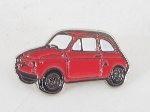 RED FIAT 500 PIN