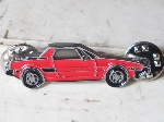 RED 1979-88 FIAT X1/9 PIN