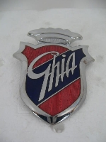 GHIA EMBLEM, CROWN ATTACHED