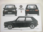 VW GOLF GTI 16 S POSTER