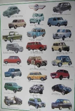 MINI AUTOMOBILE POSTER