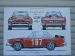 1965 SUNBEAM TIGER POSTER